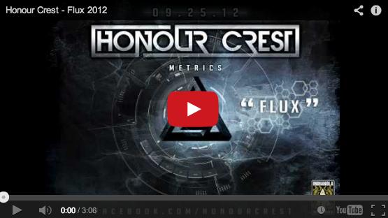 honour crest lyric video